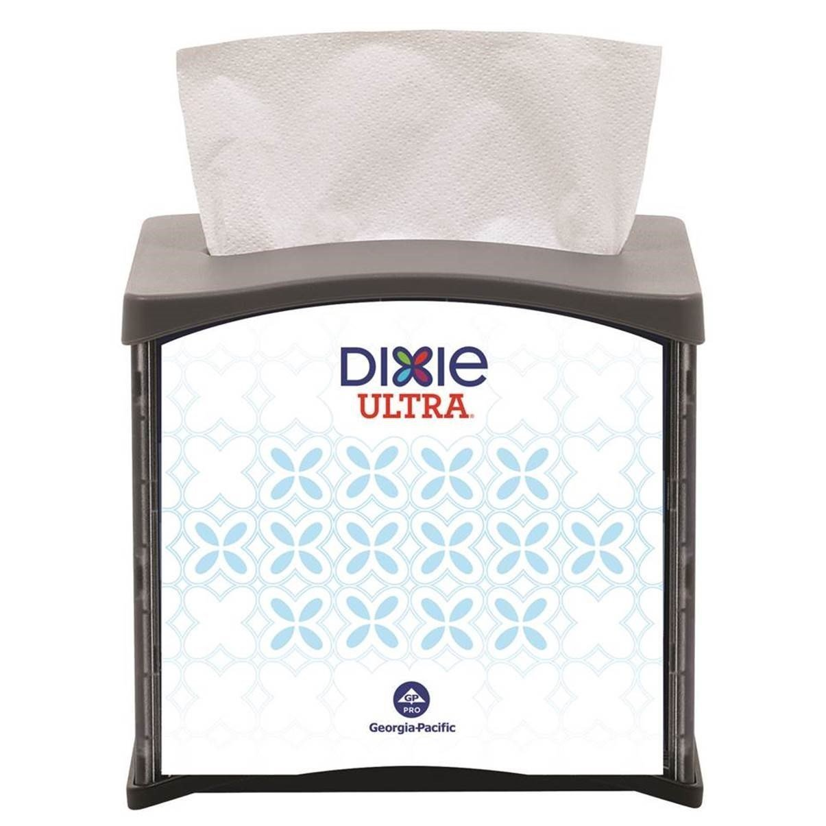 Dixie Ultra Tabletop Interfold Napkin Dispenser (Formerly EasyNap) by GP PRO (Georgia-Pacific), Black, 54527, Holds 300 Napkins,5.900