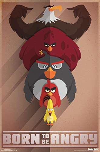 Angry Birds- Born Angry Poster