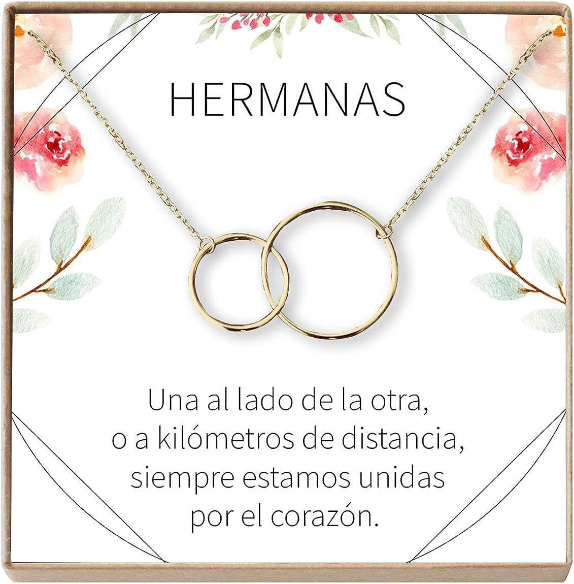Amazon.com: Dear Ava Collar Regalo para Hermana: Joyería ...