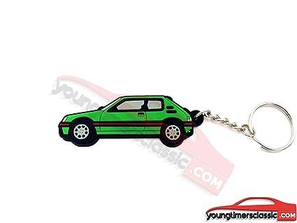 youngtimersclassic Peugeot Llavero 205 GTI Suave PVC - Verde ...