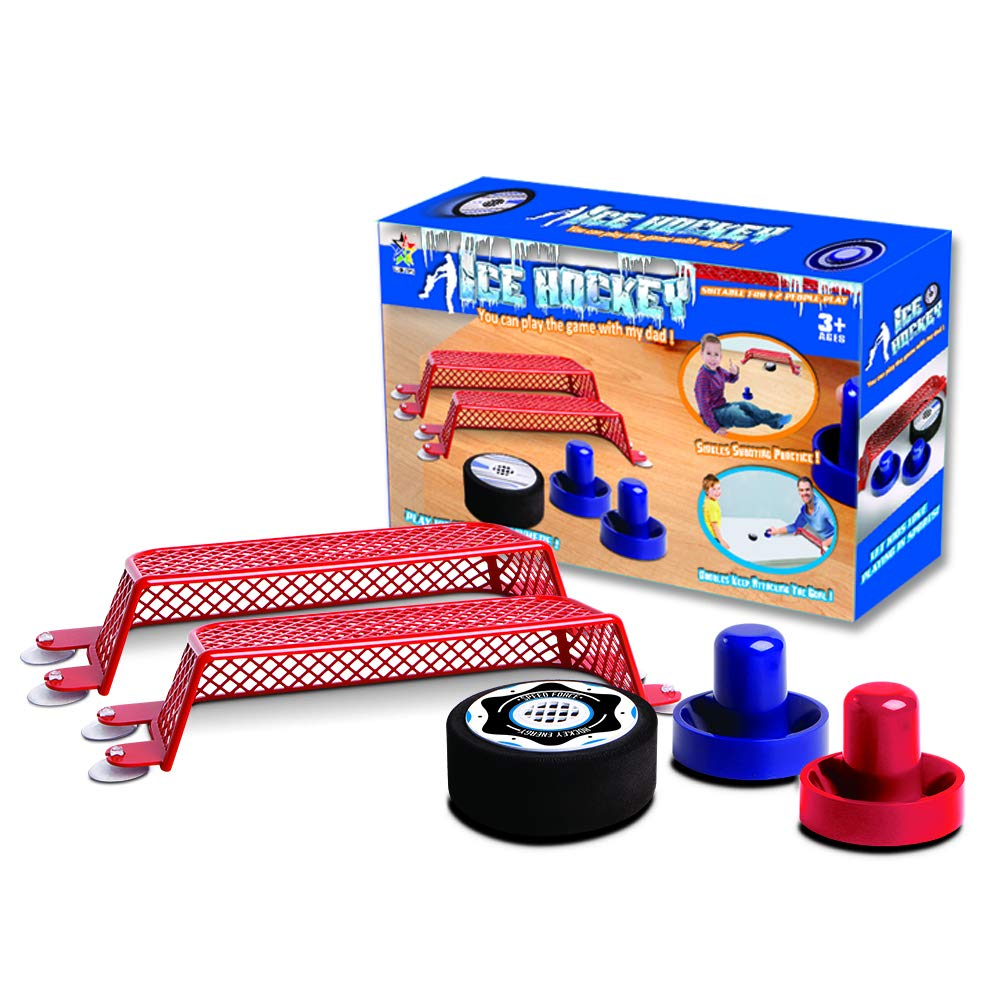 DUCKTOYS Air ice hockey, air suspension table ball children's educational parent-child interactive decompression toy air suspension table ball children's educational parent-child interactive decompression toy