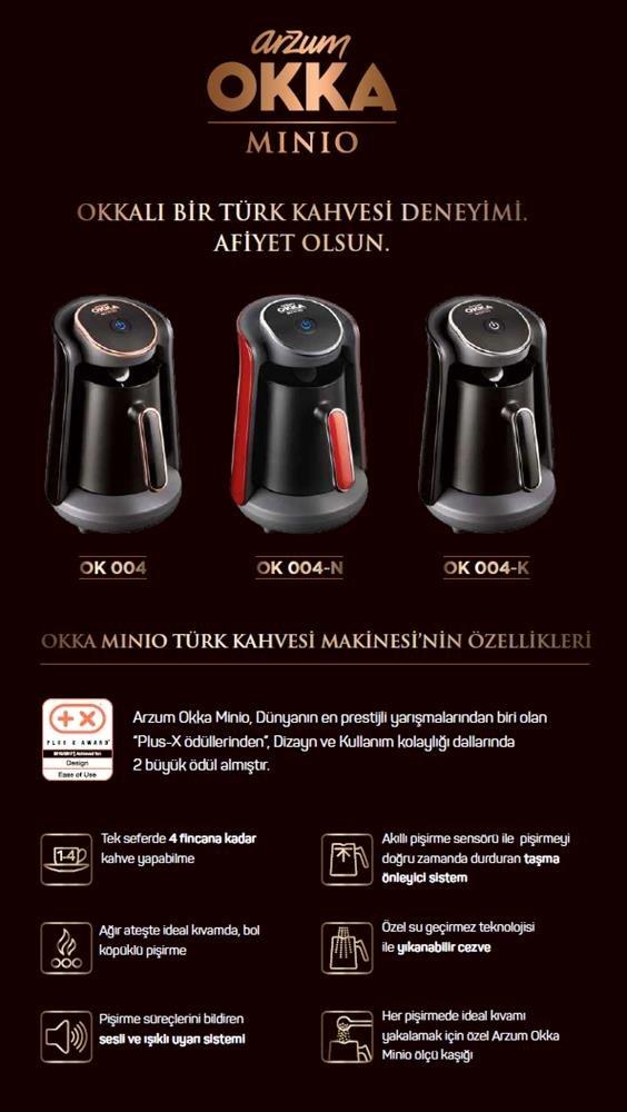 Arzum ok004/de K cafeteras