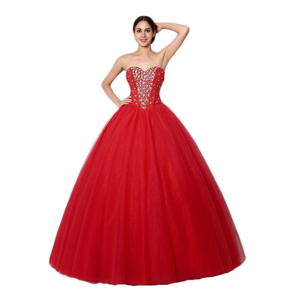 Love Dress Red Floor Length Quinceanera Dress Prom Dress Us 16