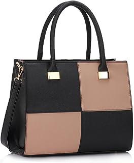 2102c6c9816c LeahWard Women s Designer Tote Bags Ladies Celeb Style Nice Shoulder  Handbags 111
