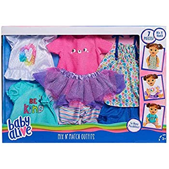 Amazon Com Baby Alive Crib Life Outfit Birthday Party