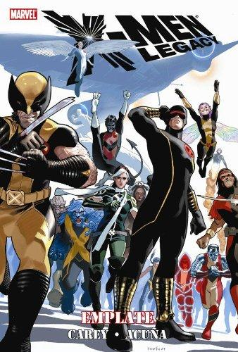 X-Men Legacy: Emplate pdf