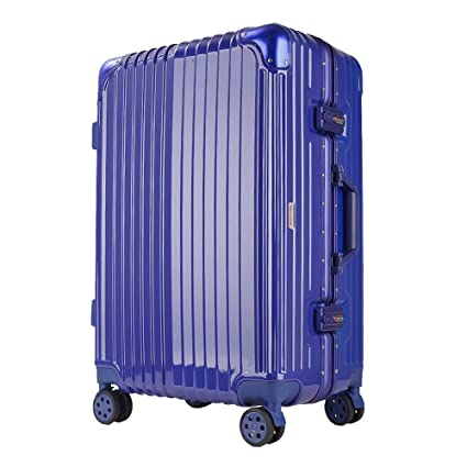 4f70f264e8d6 Amazon.com : Lightweight Abs Hard Case Suitcase - 8 Wheel Carrying ...
