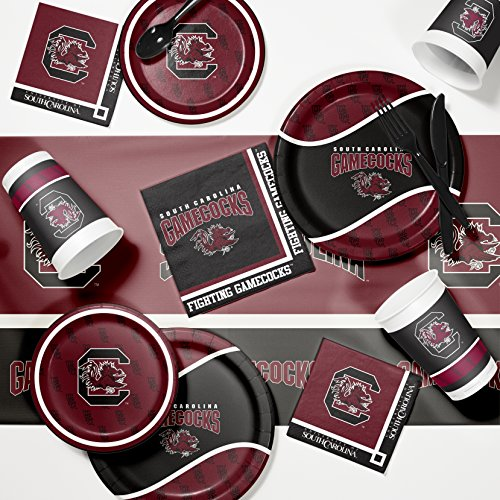 Ncaa Party Kit (University of South Carolina Game Day Party Supplies Kit)
