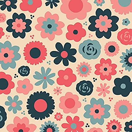 KAREN FOSTER Scrapbooking Paper, 25 Sheets, 12 x 12-Inches, Flowers for Mom