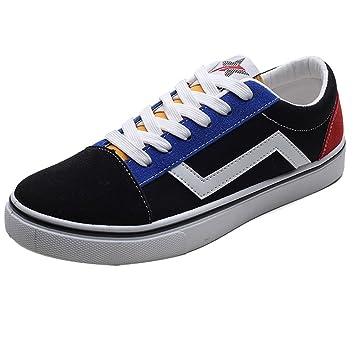 YaNanHome Zapatos para Hombre/Alpargatas Zapatos de Lona de los Hombres Verano Zapatos de la
