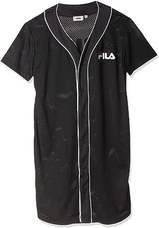 FILA Women's Robin Button Baseball Dress, X-Small