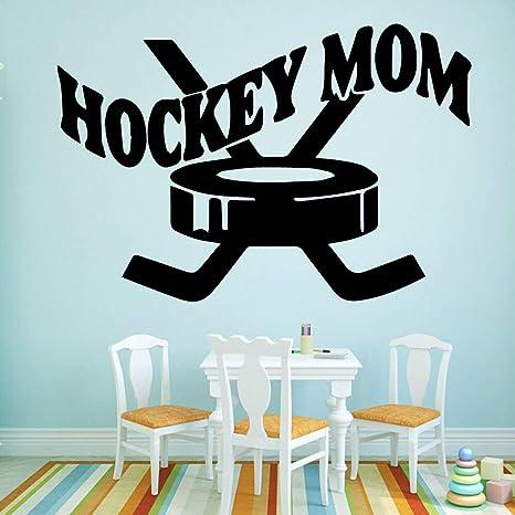 Shentop Hot Hockey Mom Vinyl Wallpaper Autoadhesivo Para