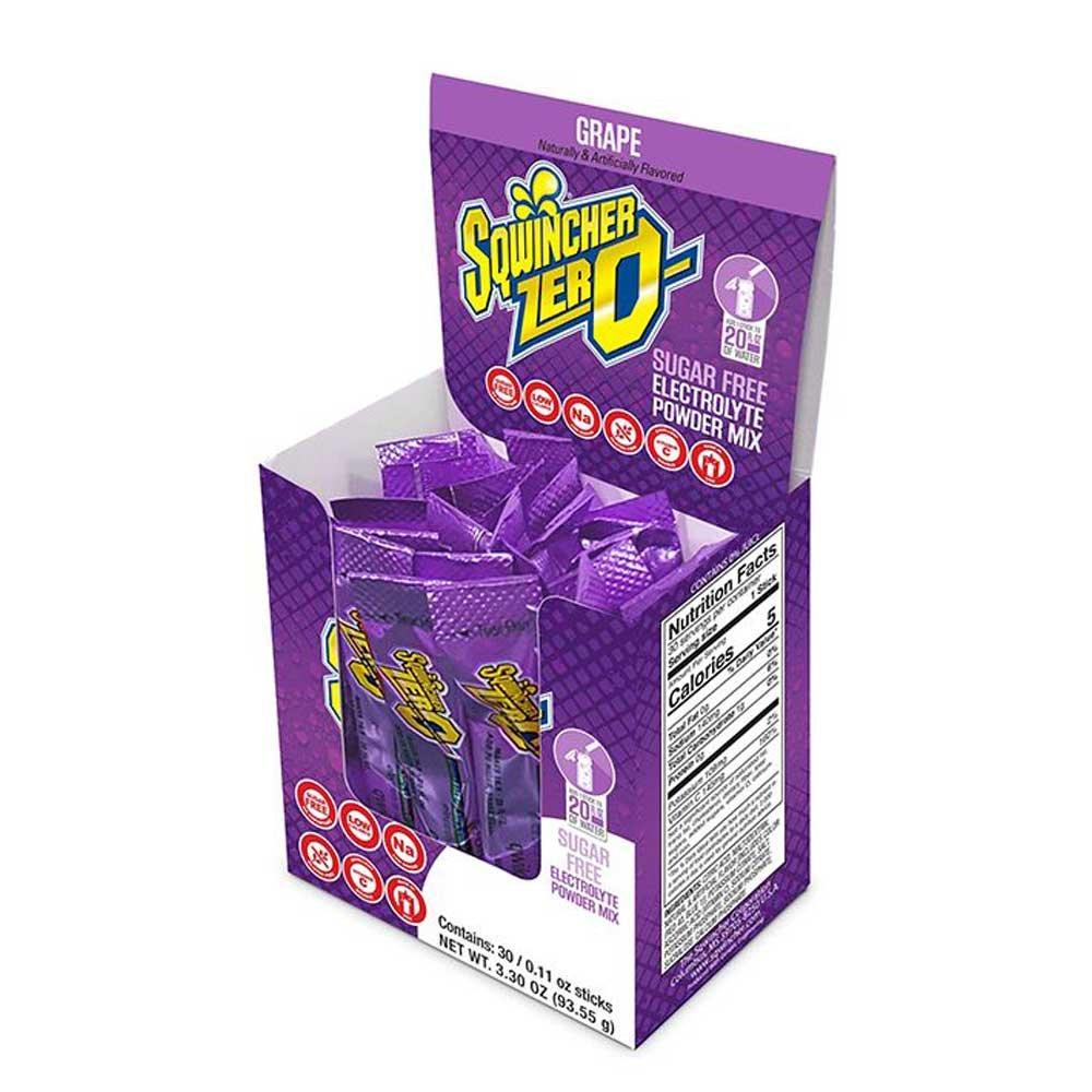 Sqwincher 1 Ounce Lite Single Serve Packet Grape E
