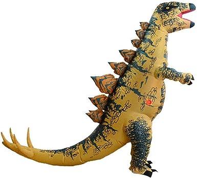 Qshine T-Rex Disfraz Inflable de Dinosaurio para Adultos, Disfraz ...