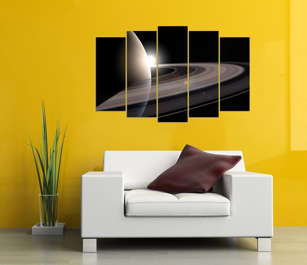 Wall Sticker Saturn Design Art Vinyl Decals Kids Bedroom Home Decor ...