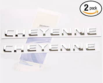 Yoaoo 2x OEM Chrome SLE letter Nameplate Emblems Badges Replacement for Sierra Denali Glossy