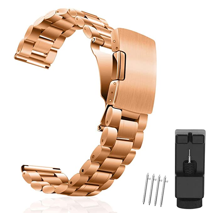 d951588308b Amazon.com  Vetoo Watch Bands 18mm Strap