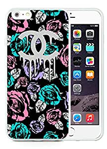 Fashion And Beautiful Custom Designed With CHANEL Logo Cover Case For iPhone 6 Plus 5.5 Inch Phone Case 54 White