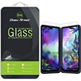 (3 Pack) Dmax Armor for LG G8X ThinQ Tempered Glass Screen Protector, (3 Tempered Glass Main Screen and 3 PET Dual…