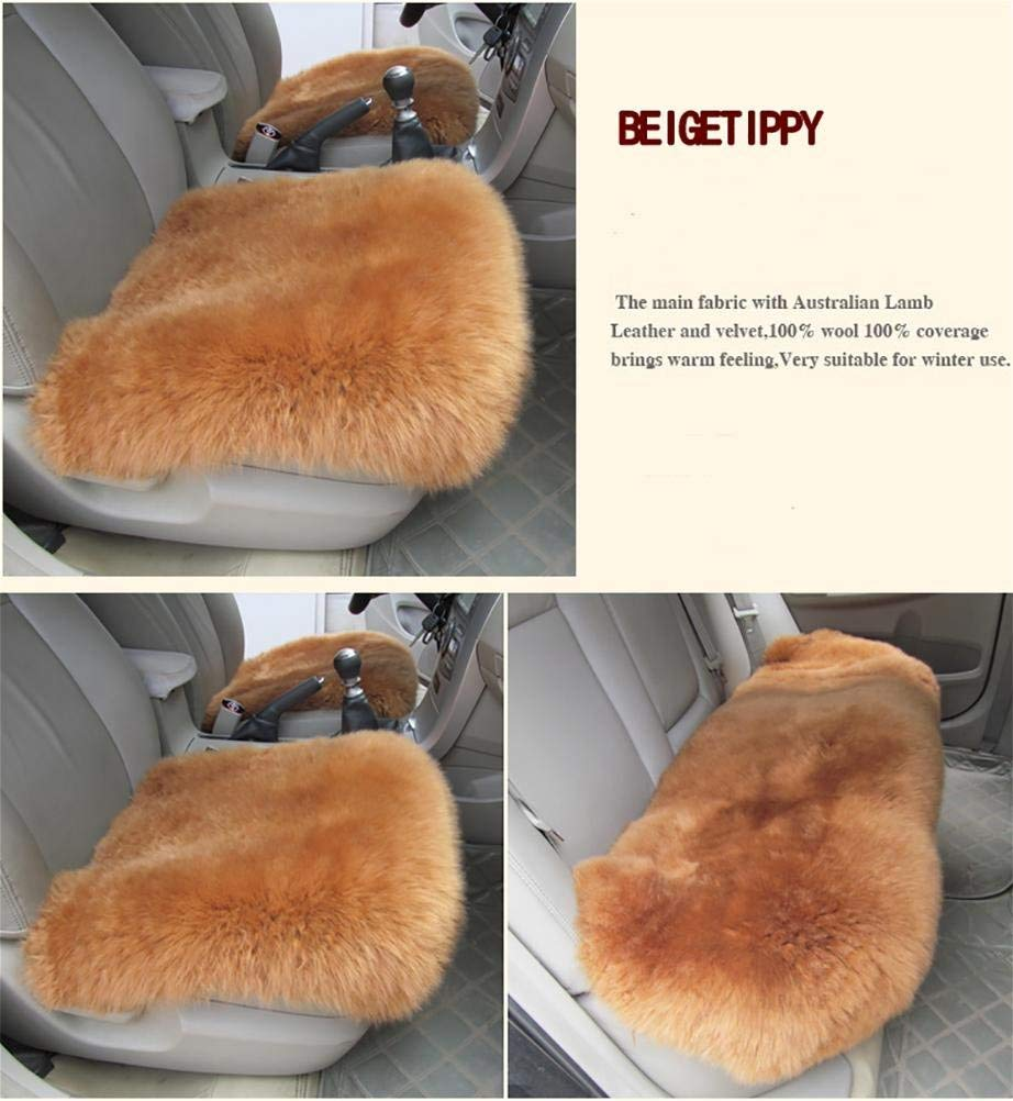 TRNMC Elegant Lady Breathable Compatible Universal Full Front Rear Car Seat Cushions Fan Shop Seat Covers Purple