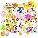 Karids Random 20 pcs squishies Pack Jumbo Medium Mini Soft Squishy Cake/Panda/Bread/Buns Phone Straps