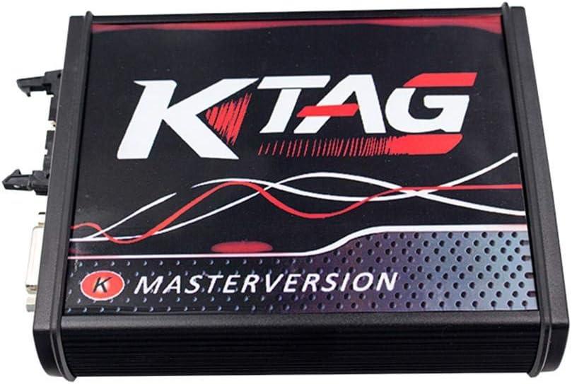 Katurn Outil De Programmation De Calculateur KTAG Version Firmware V7.020 Version Principale du Logiciel V2.47 avec Jeton Illimit/é