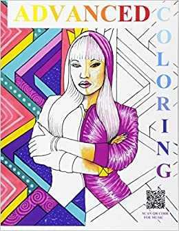 Advanced Coloring Books: Hip-Hop/R&B Artists: adult coloring books ...