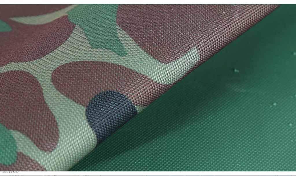 SZ JIAOJIAO Rainproof Tuch Camouflage Oxford Oxford Oxford Tuch Waterproof Sonnenschutz-Anhänger Set Picknick Camping Falten PVC Plane,2X3m B07JRHSXNH Zeltplanen Super Handwerkskunst f62759
