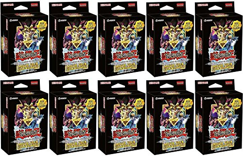Yugioh TCG The Dark Side Of Dimensions Movie Pack Gold Edition Booster Box Display (30 packs) by Yu-Gi-Oh!