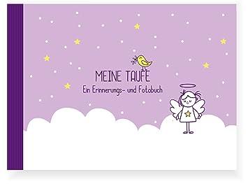 Taufbuch Mädchen Taufalbumerinnerungsbucheintragealbum Recycling Papier Taufgeschenk