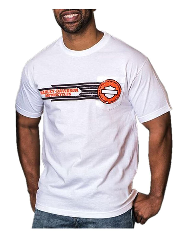 85 off harley davidson mens tread bar shield short for Ez custom t shirts