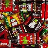 25 Lb Hershey Kisses Best Deals - Bulk Christmas Chocolates - Hershey's Miniatures Christmas Assortment - Hershey Bars, Mr. Goodbars, Hershey's Special Dark, and Krackel - 25 lbs