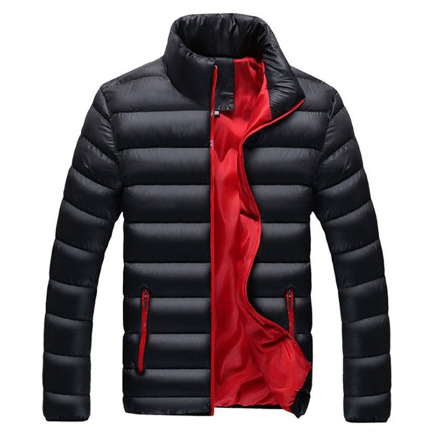 Jacket Men Warm Coat Black Outwear Chaquetas Plumas Hombre ...