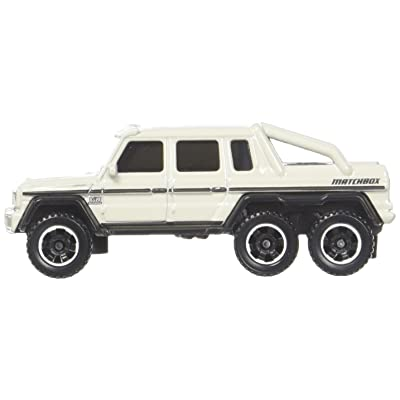 Matchbox 2020 Mercedes-Benz G63 AMG 6x6 91/125, White: Toys & Games