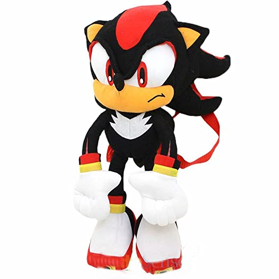 Sonic The Hedgehog Super Sonic Plush Doll Bag Custom Backpack  Kids to Aduts
