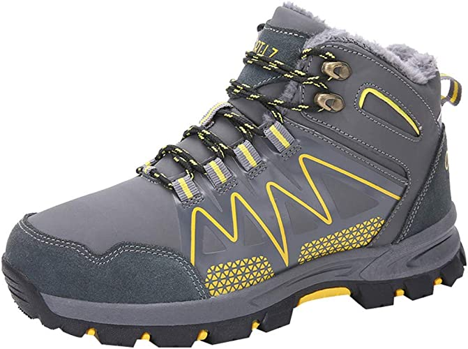 best service new style premium selection Amazon.com | Haforever Men's Waterproof Men's Hiking Shoes High ...