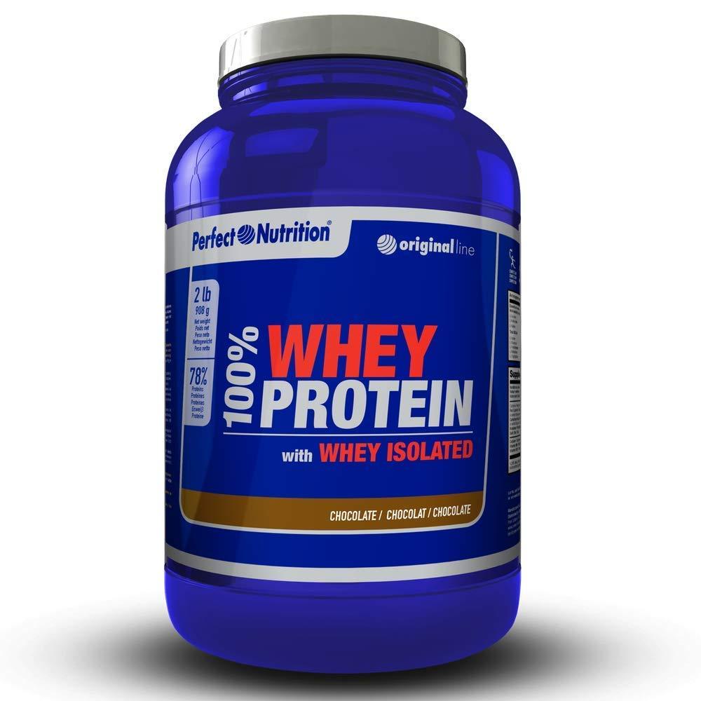 Proteinas Whey isolate 100% proteina de suero hidrolizada de alta calidad - 908g -Aumenta el Crecimiento muscular y el rendimiento deportivo.