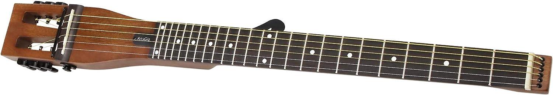 Anygig AGS SE-MB - Guitarra eléctrica portátil de 25,5