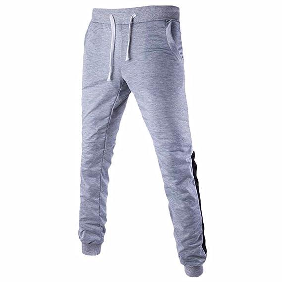 OTW Mens Drawstring Letter Printed Casual Jogger Pants Sweatpants Pants Trousers