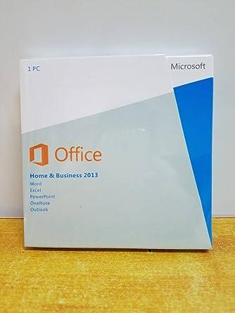 microsoft office 2013 home & business 32/64-bit