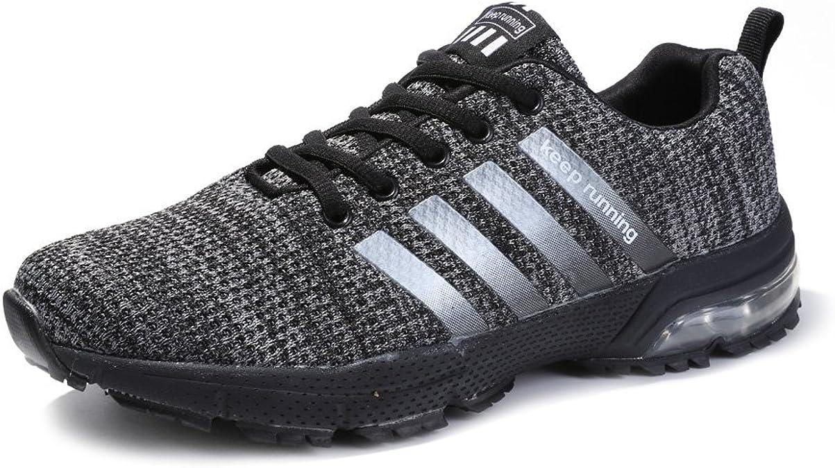 Kuako Zapatillas de Deporte Respirable para Correr Deportes Zapatos Running Hombre: Amazon.es: Zapatos y complementos