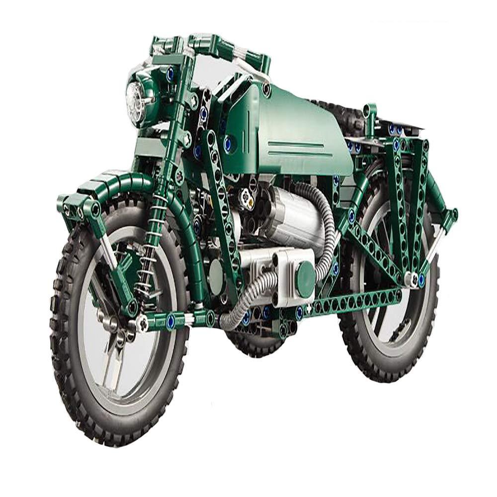 Reducción de precio Muzili: Control Remoto Motocicleta de la Segunda Guerra Mundial, Bloques de construcción,Rompecabezas de ortografía,Bloques de construcción, Juguetes Infantiles, Festival de Coches