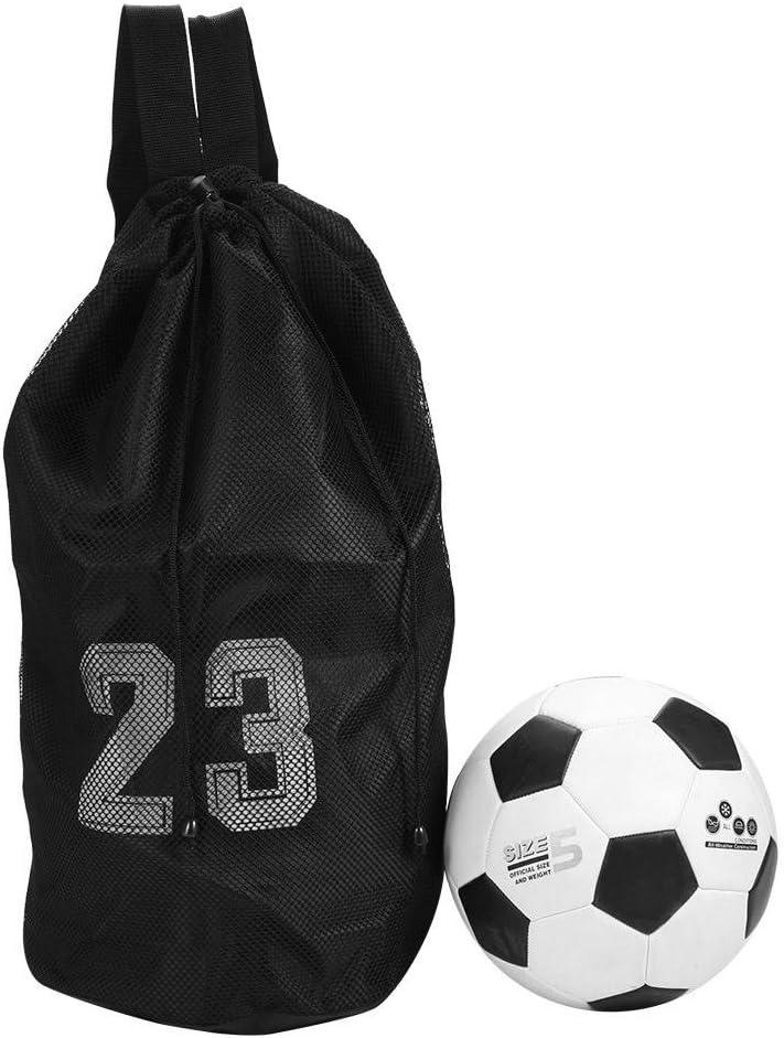 pallacanestro calcio calcio sport allenamento esercizio zaini spalla Borsa con chiusura a cordoncino Alomejor Ball mesh zaino