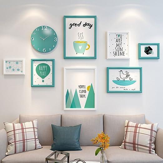 DIY Foto de la pared Foto decoraciones del marco de la sala ...