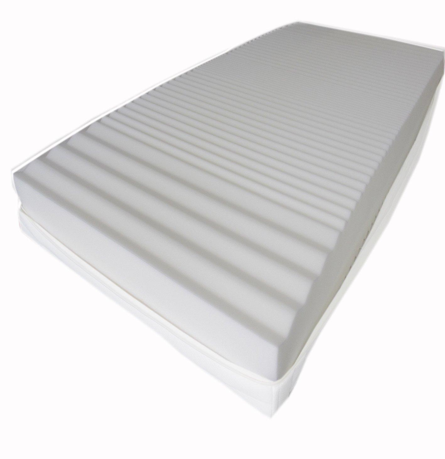 Dibapur® Q3D Air Fresh 9 9 9 Zonen Orthopädische Kaltschaummatratze (Q3D 120x190) x ca.15,5 cm Kern mit 3D Air Fresh Bezug ca.16 cm Härtegrad  2,5 (bis ca.110 kg) Q Steht für Qualität Made in Germany f8029d