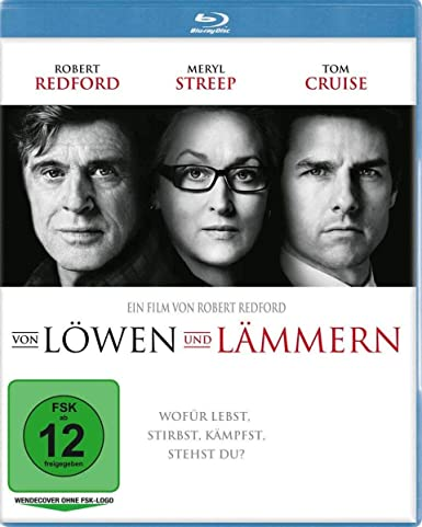 Von Löwen und Lämmern (Blu-ray) [Alemania] [Blu-ray]: Amazon.es: Robert Redford, Meryl Streep, Tom Cruise, Michael Peña: Cine y Series TV