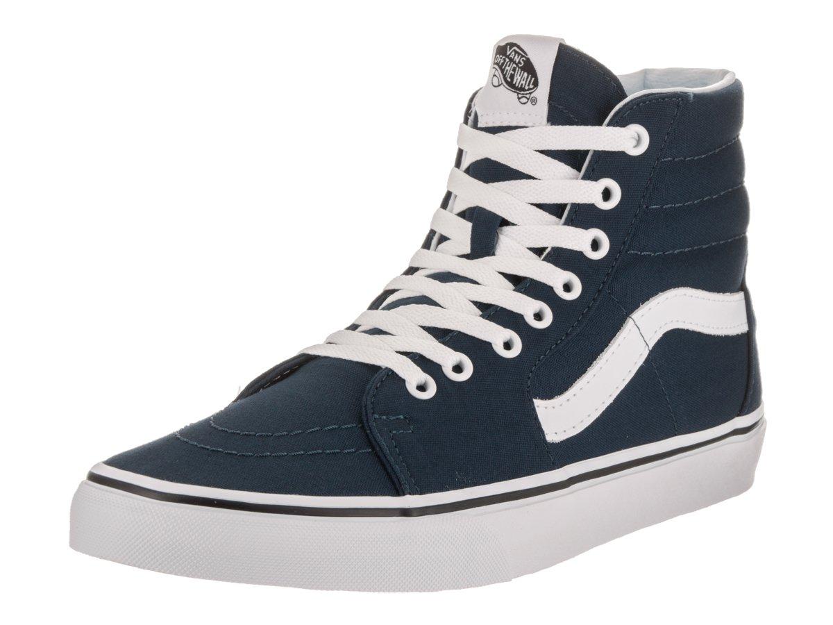 Vans Men's Sk8-Hi(Tm) Core Classics B01A621564 5 D(M) US|Dress Blue / True White