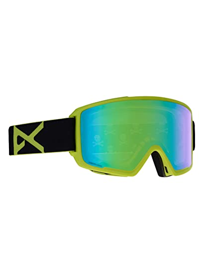 9c3ae4e39405 Anon M3 w Spare Goggles Black Green Sonar Green and Sonar Infrared Lens Mens