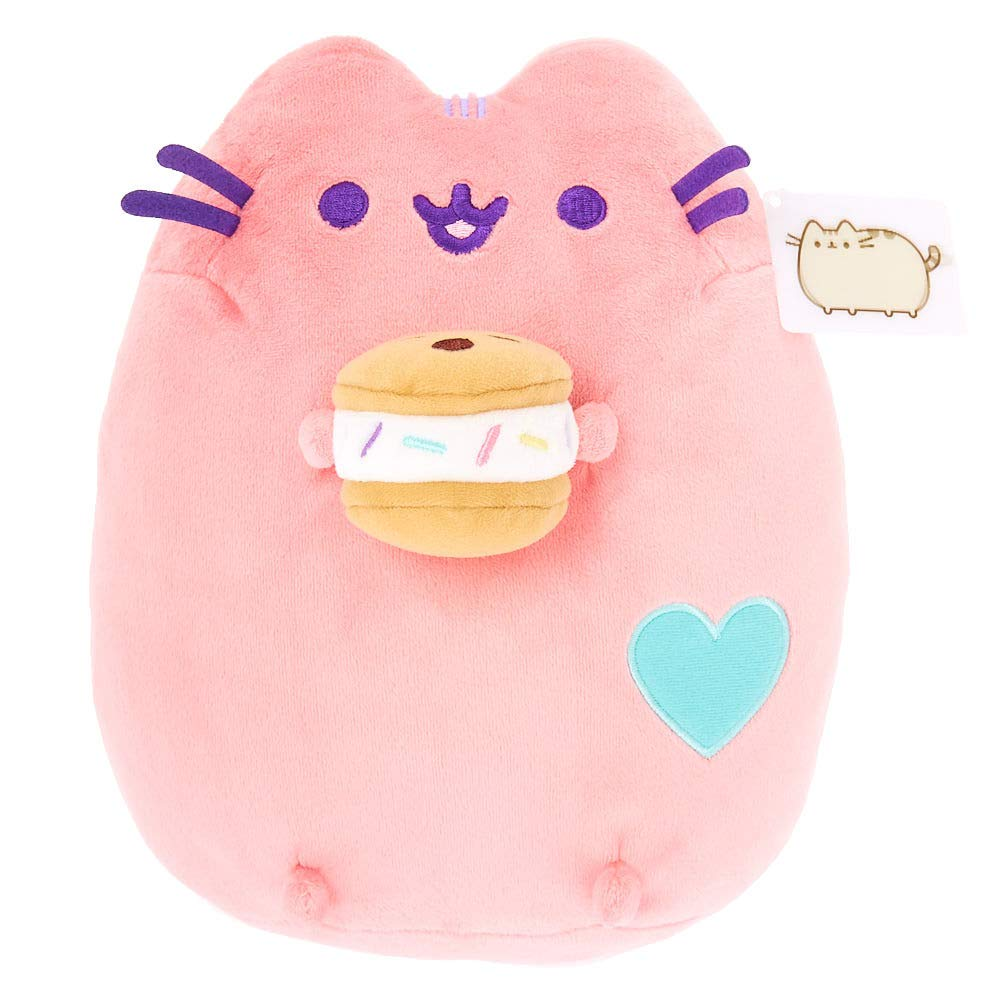 Pusheen Claire's Girl's Medium Chipwhich Plush Toy - Pink by Pusheen