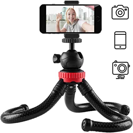 newdora Mini trípode plegable para smartphone, cámara, iPhone ...